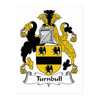 Escudo de la familia de Turnbull Tarjeta Postal