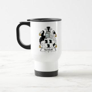 Escudo de la familia de Turnbull Taza De Café