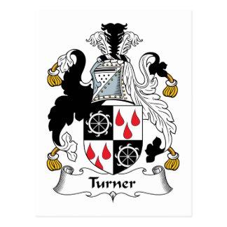 Escudo de la familia de Turner Postal