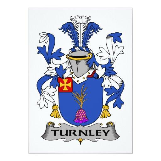 Escudo de la familia de Turnley Anuncio