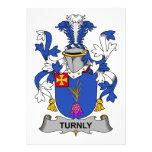 Escudo de la familia de Turnly Invitacion Personalizada