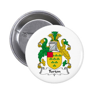 Escudo de la familia de Turton Pin