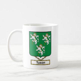 Escudo de la familia de Tuson Taza Clásica