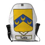 Escudo de la familia de Tuttle Bolsa Messenger