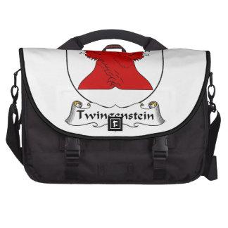 Escudo de la familia de Twingenstein Bolsas De Ordenador