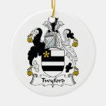 Escudo de la familia de Twyford Adorno De Reyes