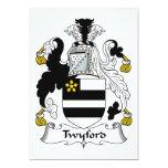 Escudo de la familia de Twyford Comunicados Personales