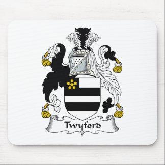 Escudo de la familia de Twyford Alfombrillas De Ratón