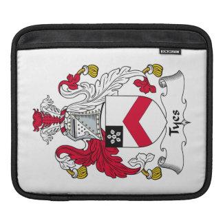 Escudo de la familia de Tyes Funda Para iPads