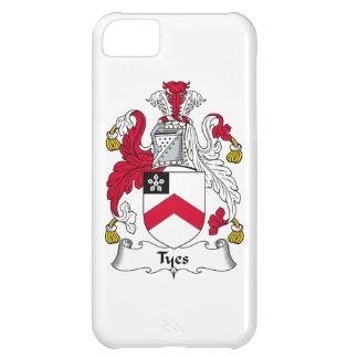 Escudo de la familia de Tyes Funda Para iPhone 5C