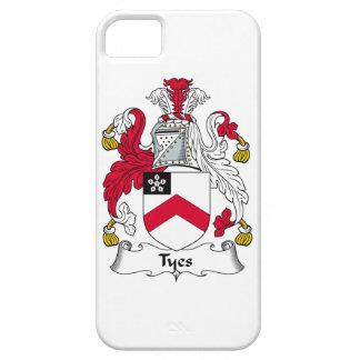 Escudo de la familia de Tyes iPhone 5 Funda