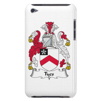 Escudo de la familia de Tyes iPod Touch Protector
