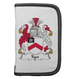 Escudo de la familia de Tyes Organizador