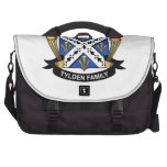 Escudo de la familia de Tylden Bolsa De Ordenador
