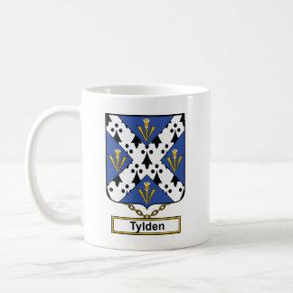 Escudo de la familia de Tylden Taza Clásica