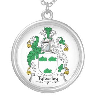 Escudo de la familia de Tyldesley Colgante Redondo