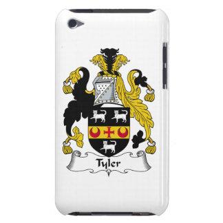 Escudo de la familia de Tyler Barely There iPod Fundas