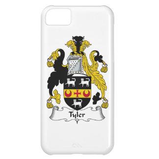 Escudo de la familia de Tyler Funda Para iPhone 5C
