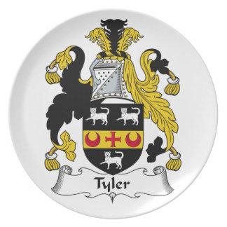 Escudo de la familia de Tyler Plato De Comida