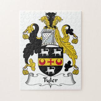 Escudo de la familia de Tyler Puzzles Con Fotos