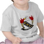 Escudo de la familia de Tyng Camisetas