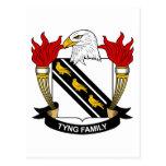 Escudo de la familia de Tyng Postal