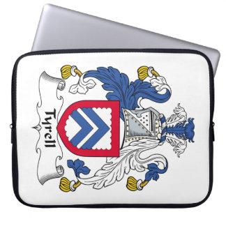 Escudo de la familia de Tyrell Funda Computadora