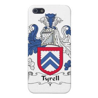 Escudo de la familia de Tyrell iPhone 5 Carcasas