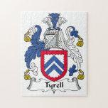 Escudo de la familia de Tyrell Puzzle Con Fotos