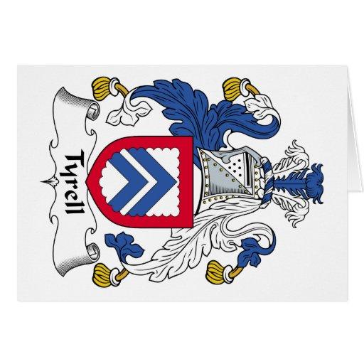 Escudo de la familia de Tyrell Tarjetón