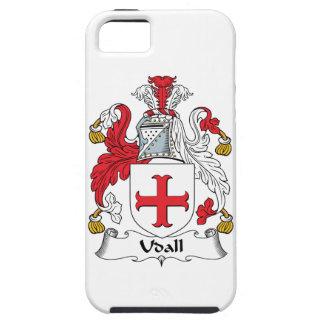 Escudo de la familia de Udall iPhone 5 Case-Mate Carcasa