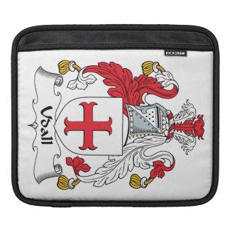 Escudo de la familia de Udall Funda Para iPads