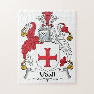 Escudo de la familia de Udall Rompecabeza