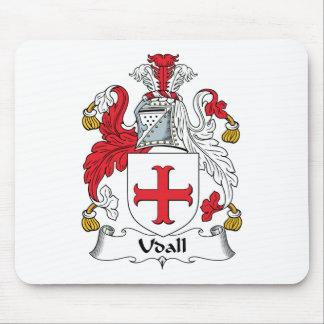 Escudo de la familia de Udall Alfombrilla De Ratón
