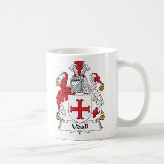 Escudo de la familia de Udall Tazas De Café