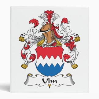 """Escudo de la familia de Ulm Carpeta 1"""""""