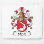 Escudo de la familia de Ulmer Tapetes De Ratón