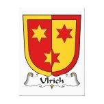 Escudo de la familia de Ulrich Lona Estirada Galerías