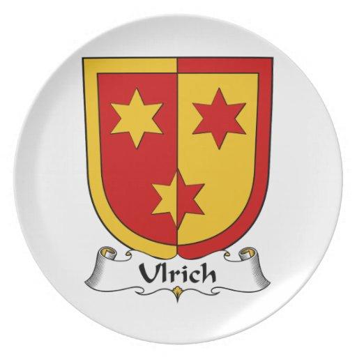 Escudo de la familia de Ulrich Platos