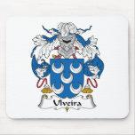 Escudo de la familia de Ulveira Tapetes De Ratones