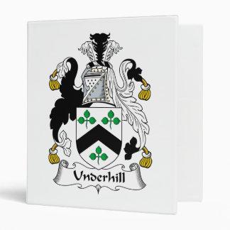 Escudo de la familia de Underhill