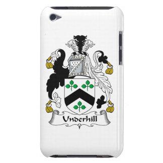 Escudo de la familia de Underhill iPod Touch Cárcasa