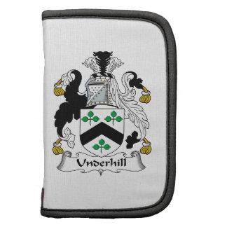 Escudo de la familia de Underhill Planificadores