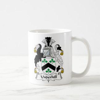 Escudo de la familia de Underhill Taza De Café