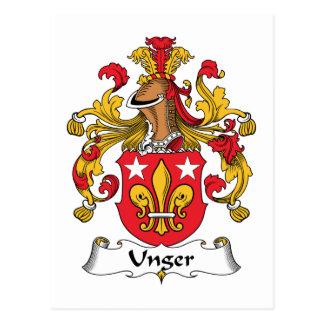 Escudo de la familia de Unger Postal