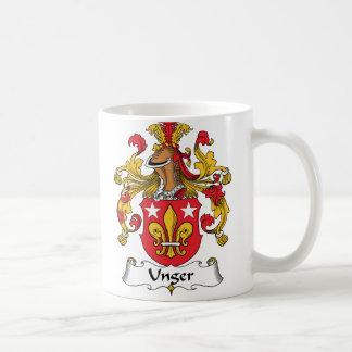 Escudo de la familia de Unger Taza De Café