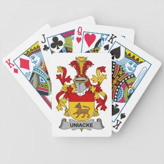 Escudo de la familia de Uniacke Barajas De Cartas