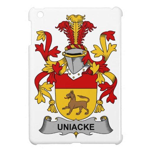 Escudo de la familia de Uniacke iPad Mini Carcasa