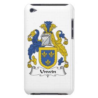 Escudo de la familia de Unwin Barely There iPod Carcasas