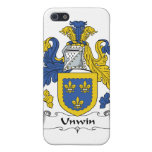 Escudo de la familia de Unwin iPhone 5 Carcasa